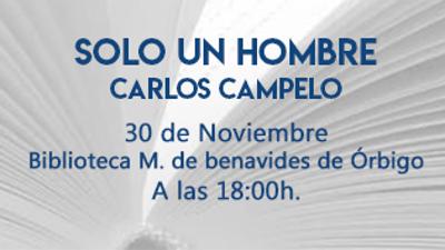 30 de noviembre, 18:00h. Presentación: SOLO UN NOMBRE EN BENAVIDES DE ÓRBIGO